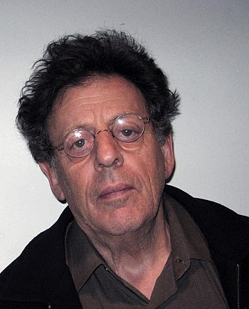Philip Glass in the WNYC studios on December 1...
