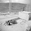 Philip bron langs de weg van Bethlehem naar Hebron. een man met een ezel laadt w, Bestanddeelnr 255-5508.jpg