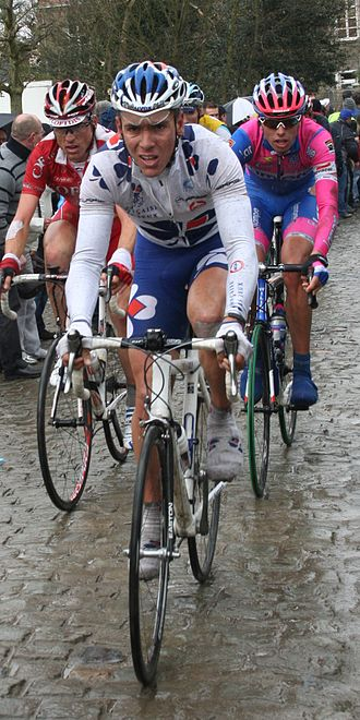 Philippe Gilbert - Gilbert at the 2008 Tour of Flanders