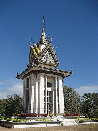 Choeung Ek - Stupa at Choeung Ek
