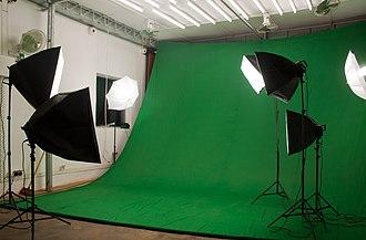 Photographic studio - Image: Photography studio in Ouagadougou