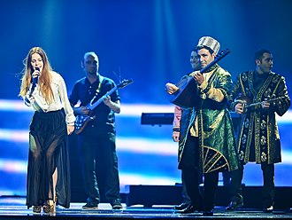 Ashik - Playing Bağlama or Saz in Eurovision Song Contest 2012