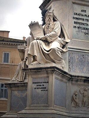 Ignazio Jacometti - Statue of Moses