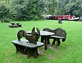 Picnic area by the Lapworth Link, Warwickshire - geograph.org.uk - 1713707.jpg