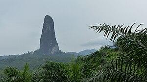 Pico Cão Grande - Image: Pico Cão Grande