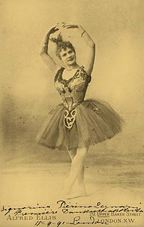 Prima ballerina assoluta title awarded to the most notable of female ballet dancers