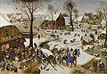 Pieter Brueghel de Jonge - De volkstelling in Betlehem (KMSKA).jpg