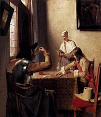 Pieter de Hooch - Soldiers Playing Cards - WGA11685.jpg