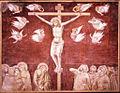 Pietro lorenzetti, crocifissione di san francesco a siena.jpg
