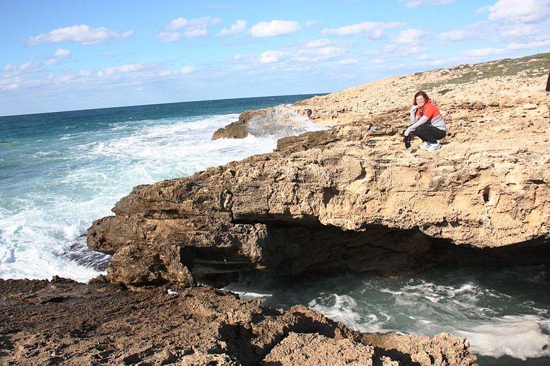 הים בשמורת חוף הבונים