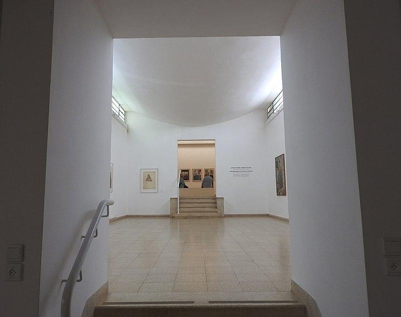 מוזיאון עין חרוד, אולם תצוגה