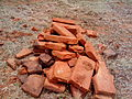 Piled Brick Remnants at Bavikonda.jpg