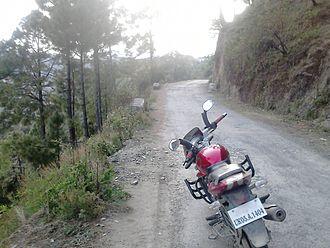 Didihat - A Road in Didihat