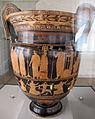 Pittore di kleophon, cratere con processioni per apollo delfico e per efeso in olimpo, 430 ac. ca, tomba 57C v.pega 01.JPG