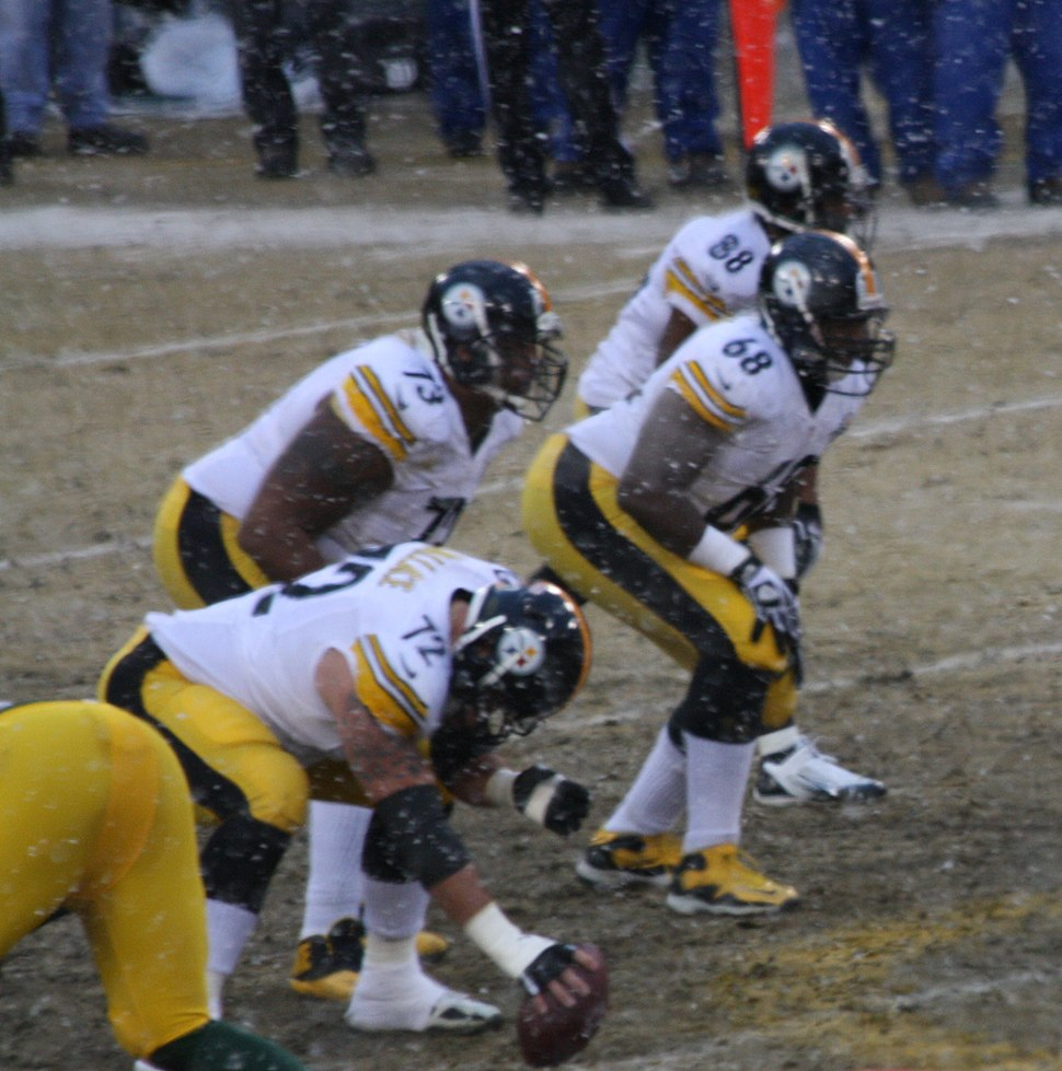 Pittsburgh 2013 left side offensive line