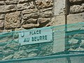 Place Au Beurre, Beaune - road sign (34837080994).jpg