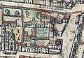 Plan de Paris vers 1530 Braun Paris hotel de la Royne.jpg