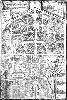 Gardens Of Versailles Plan 4