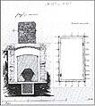 Plan of Alexander III's grave by G.Botta (1894).jpg