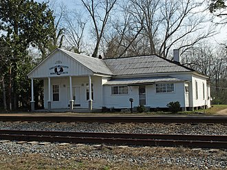 National Register of Historic Places listings in Dallas County, Alabama - Image: Plantersville Alabama Feb 2012 04