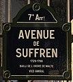 Plaque Avenue Suffren - Paris VII (FR75) - 2018-02-03 - 1.jpg