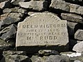 Plaque on Hartside Cairn - geograph.org.uk - 732755.jpg