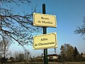 Plaques Route Marillat Allée Chesserane St Cyr Menthon 2011-11-16.jpg