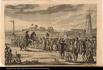 Slave rebellion - Demerara rebellion of 1823