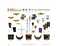 Plate XI, Uniform Accessories and Officer Insignia - U.S. Marine Corps Uniforms 1983 (1984), by Donna J. Neary.jpg