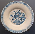 Plate with hare, Teruel, Spain, 1650-1700 AD, ceramic - Museo Nacional de Artes Decorativas - Madrid, Spain - DSC08203.JPG