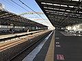 Platform of Bentencho Station (Osaka Loop Line) 2.jpg