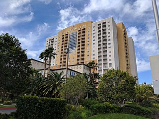 The Platinum condo hotel near the Las Vegas Strip