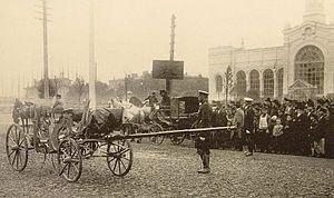Vyacheslav von Plehve - Scene of assassination in Saint Petersburg on 15 July 1904
