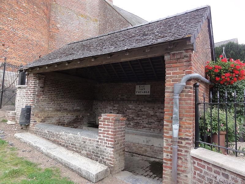 Plomion (Aisne) lavoir