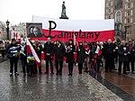Początek marszu na Rynku Głównym (8721299858).jpg