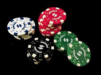 English: Poker Chips