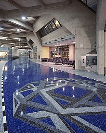 An Empty Terminal Hall In The Kansas City International Airport