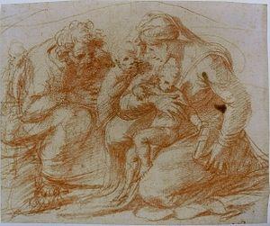 Polidoro da Caravaggio - Image: Polidoro da Caravaggio Sainte Famille