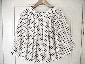 Image showing b/w polka dot skirt