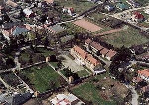 Pest-Pilis-Solt-Kiskun County - Pomáz - Palace from above