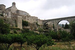Minerve, Hérault - The bridge at Minerve