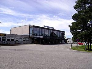 Pori Airport - Image: Porin lentoasema