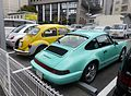 Porsche 993 Carrera 2 & VolksWagen TYPE 1 & New Beetle rear.JPG
