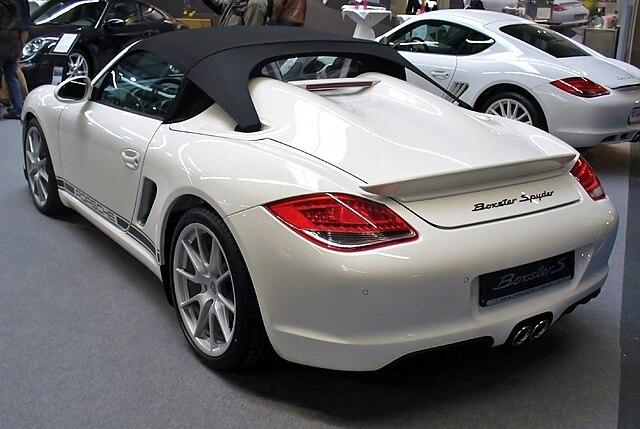 Porsche Boxster Spyder (987)