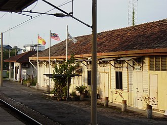 Port Klang - Image: Port Klang Komuter station offices