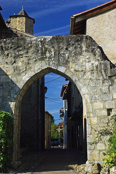 Porte de ville de Montjoie-en-Couserans (Inscrit)