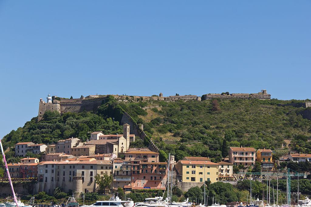 Porto Ercole, Rocca aldobrandesca