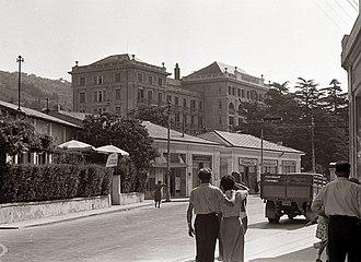 Portorož - Palace Hotel in 1957