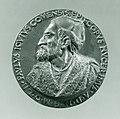 Portrait medal of Paolo Giovio (obverse); Giovio Raising a Man from a Grave (reverse) MET SF-1975-1-1314obv.jpg