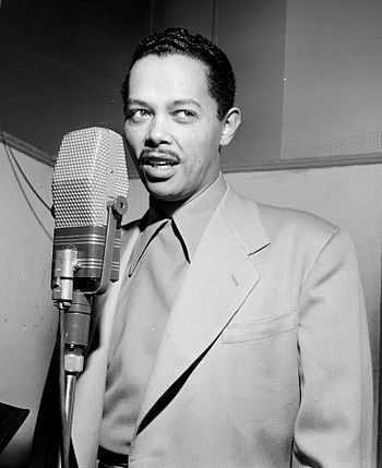 Portrait of Billy Eckstine, New York, N.Y., be...